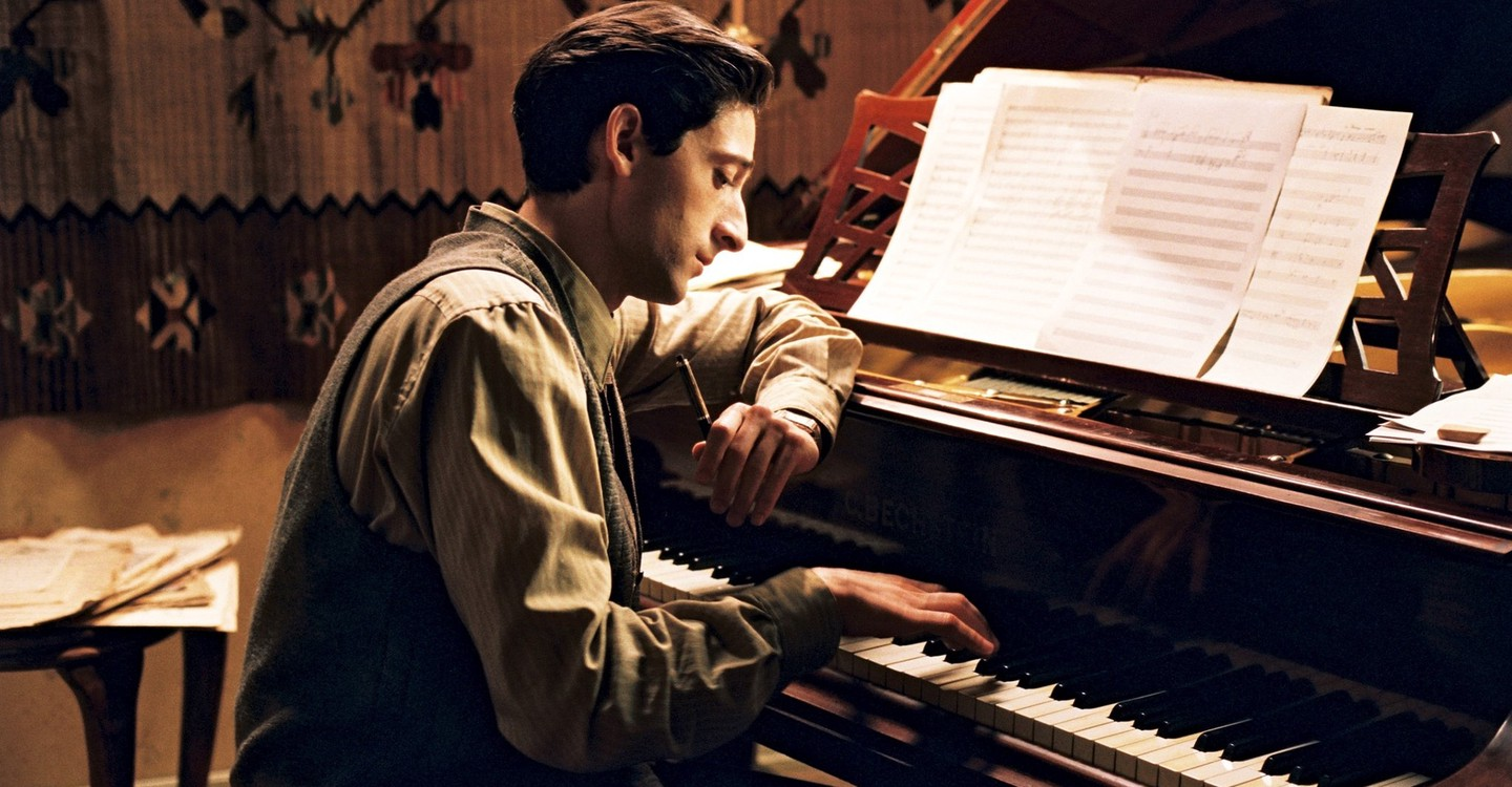 Adrien Brody starred in 'The Pianist.' (Credit: Focus Features)