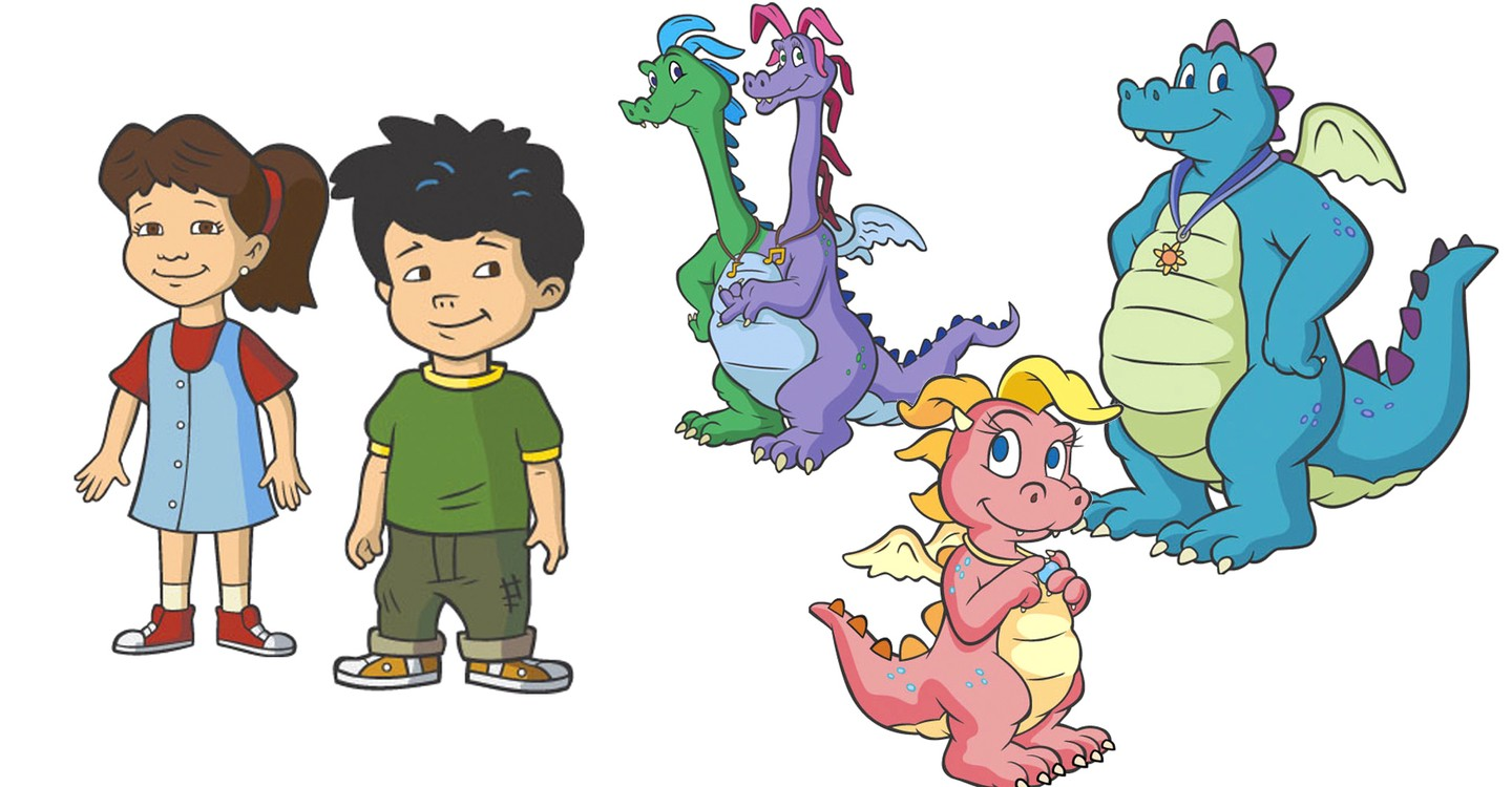 Dragon Tales Zak And Wheezie Toys