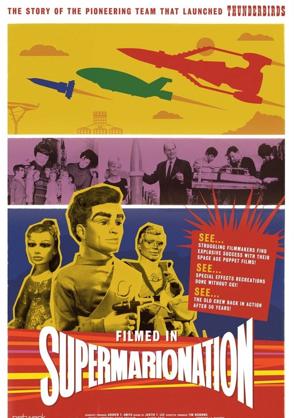Image result for filmed in supermarionation poster