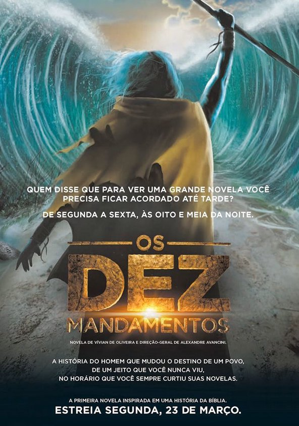 Os 10 Mandamentos Torrent Download – HDTV 720p Novela Nacional (2015)
