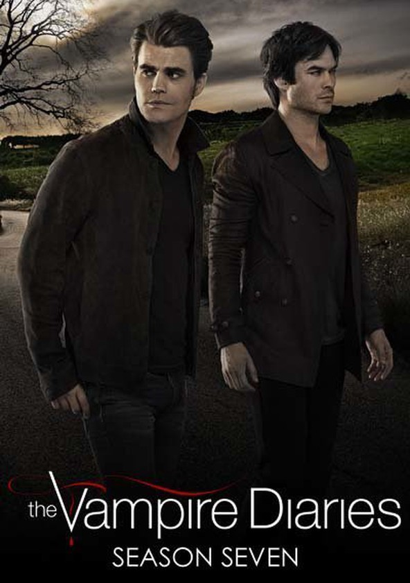 Vampire Diaries Netflix Poster The Vampire Diaries Se...